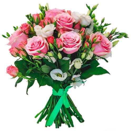 Букет №2 Розовые розы