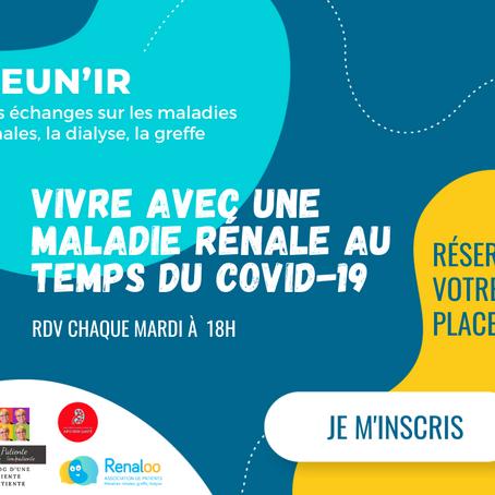 Réun'IR : les visios interactives patients tous les mardis à 18h !