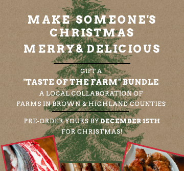 Taste of the Farm Holiday Bundles