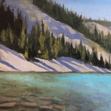 Fuse Lake, MT Plein Air