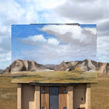 badlands plein air