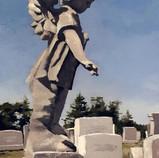 """""""Sunlit Cherub, Mt. Olivet cemetery"""""""