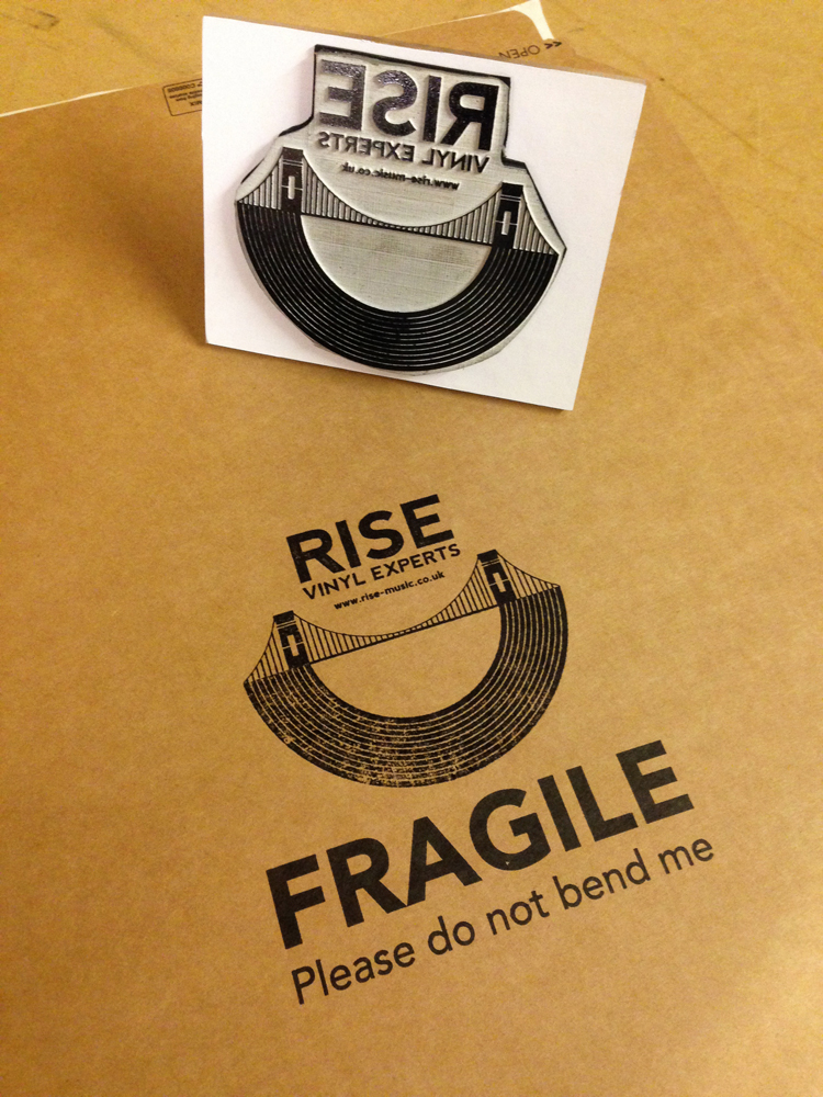 Rise Mail order stamp