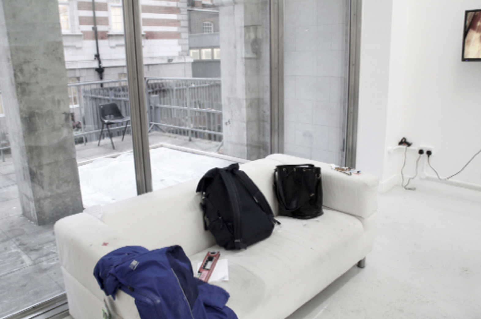 Performance with a sofa