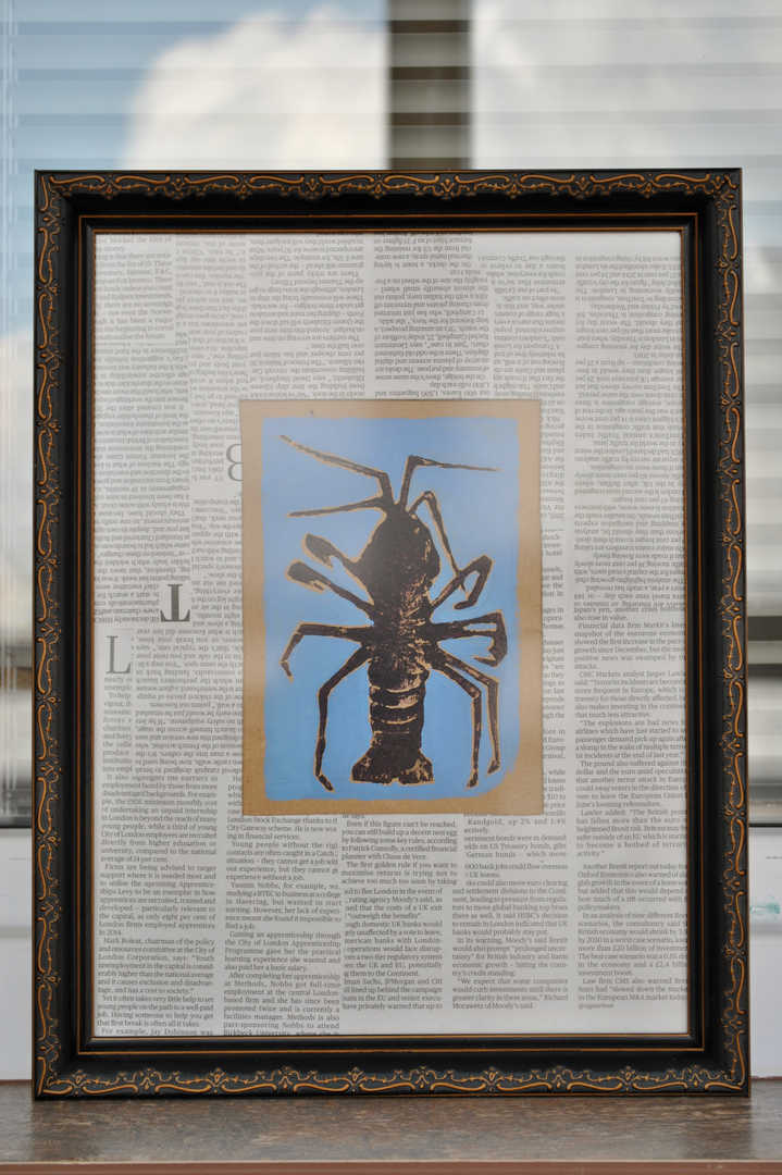 Lobster, prints (2016)