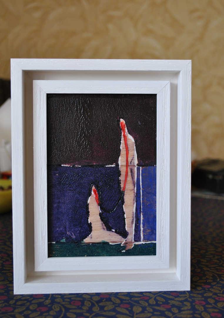 Linocuts framed (2016)