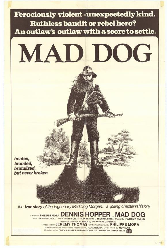 Poster of Philippe Mora's Mad Dog Morgan
