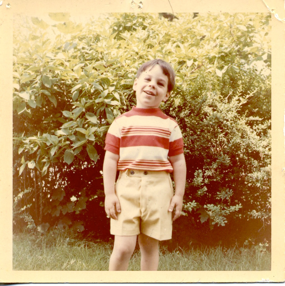 The author as a little kid.