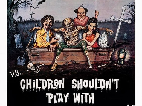 Wake Up Heavy Podcast: Children Shouldn't Play With Dead Things
