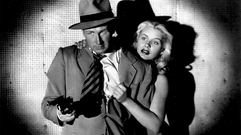 Lloyd Bridges & Barbara in TRAPPED