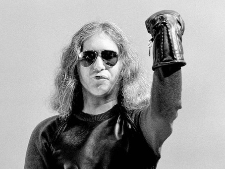 Jim Steinman is The Emperor in Black Leather