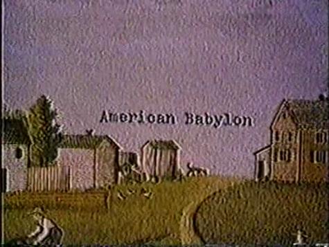 Pastoral Hide & Seek:  A Peek into AMERICAN BABYLON