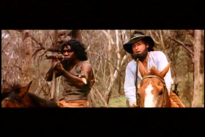 David Gulpilil & Dennis Hopper in Mad Dog Morgan