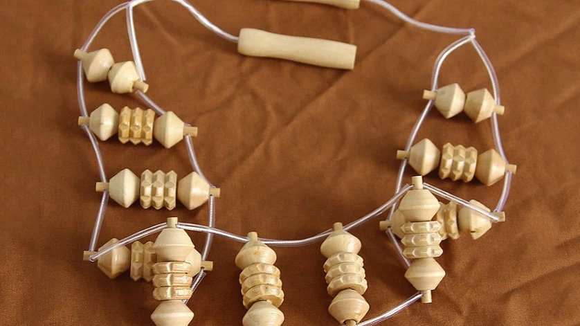 Wooden Wood Therapy Roller Massage
