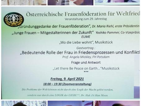 """""""Gründunggedanke der Frauenföderation"""",  Junge Frauen –"""