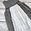 Thumbnail: Stripped Frayed Sleeveless Top