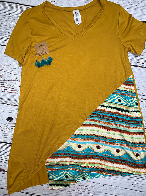 Simply Stated Aztec Top