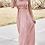Thumbnail: Dusty Rose Maxi Dress with Ruffles