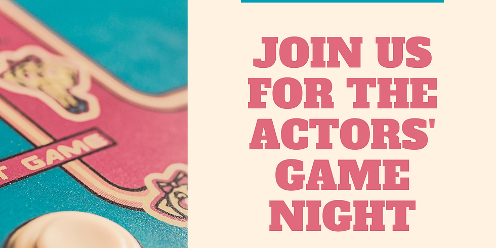 The Actor's Game Night