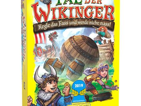 Tal der Wikinger ist das Kinderspiel des Jahres 2019