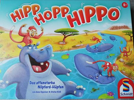 Hipp Hopp Hippo - Schmidt Spiele