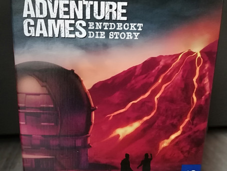 Adventure Games: Die Vulkaninsel - Kosmos
