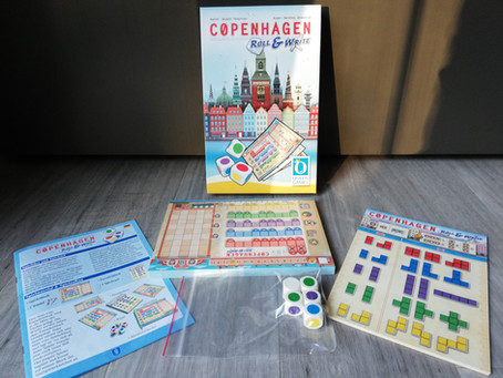 Copenhagen Roll&Write - Queen Games