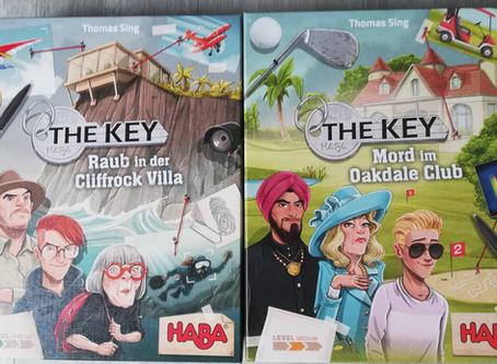 The Key - Raub in der Cliffrock Villa und Mord im Oakdale Club - HABA