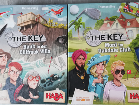 The Key - Raub in der Cliffrock Villa und Mord im Oakdale Club - HABA