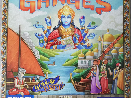 Rajas of the Ganges (Roll&Write) - Huch