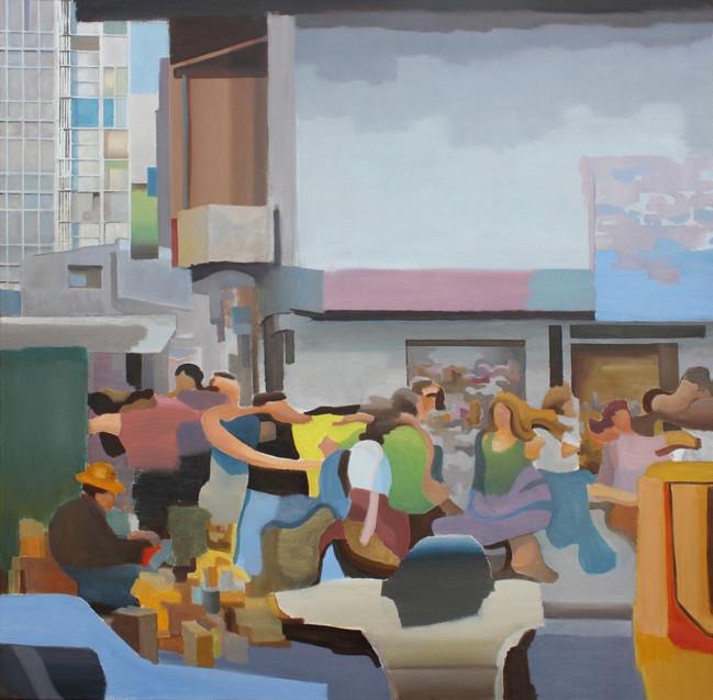 Garcia Pilotto - Paisaje 3 -  100 x 100