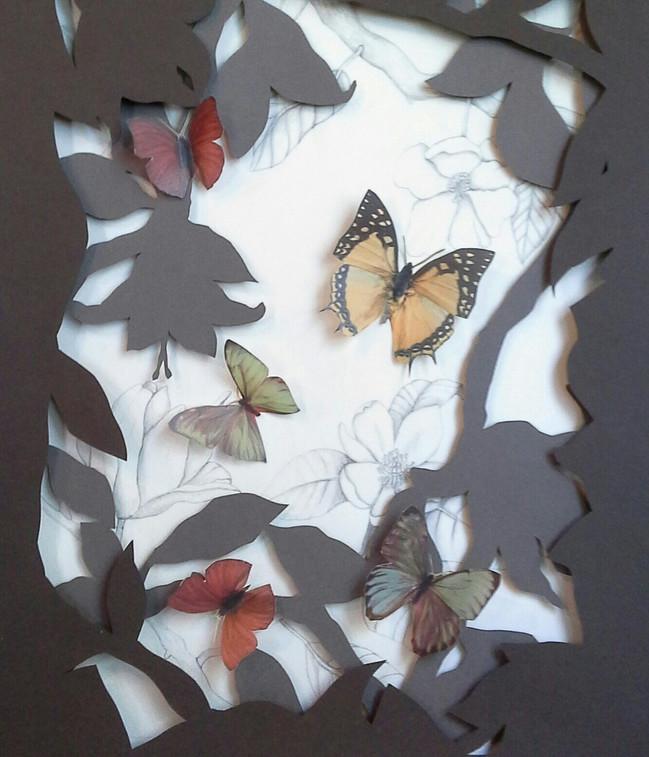 Laura Dalton - El jardin secreto - papel