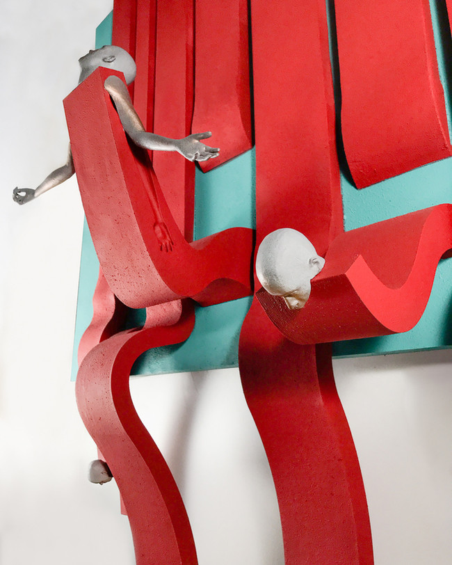 Koló - Stripes - madera, impresion 3D -