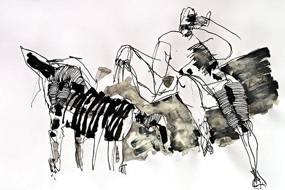 006- A100- G. Busquets. Hombre con perro