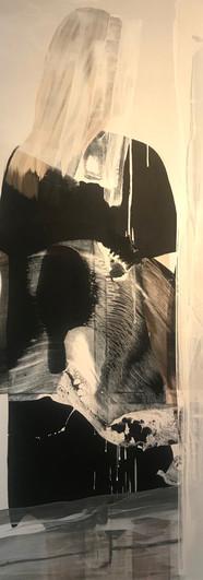 2 Noche abierta - acrilico tela  160 x 1