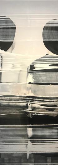 1 Twins - acrilico tela - 160 x 120 cm 2