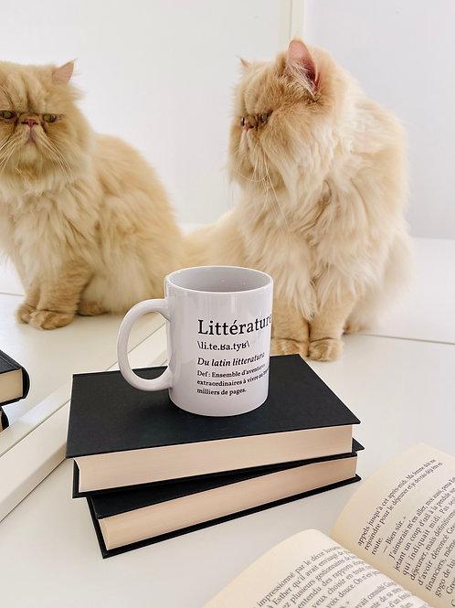 Mug littérature
