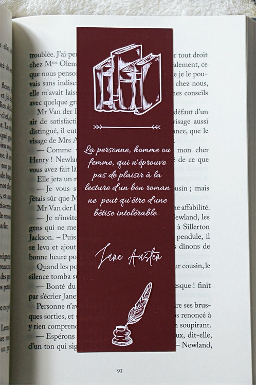 Marque page Catherine