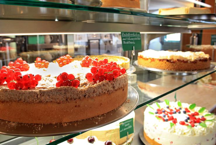 """Das """"Herzstück"""": Kuchen und Torten"""