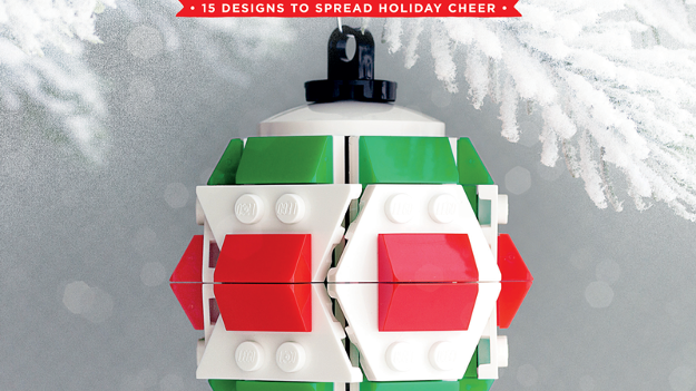The LEGO Christmas Ornaments Book - Volume 1