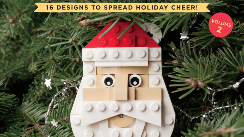The LEGO Christmas Ornaments Book - Volume 2