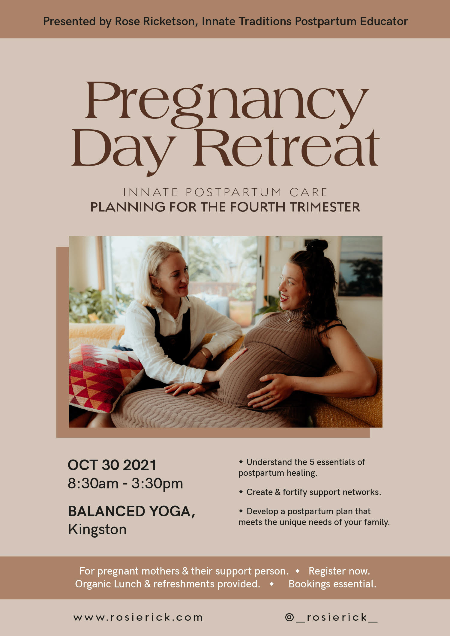 Pregnancy Day retreat