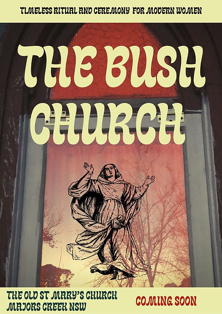 The Bush Church by Rosie Rick, The Old St Mary's Church in Majors Creek NSW, - Holistic Birth Work & Mother Care, Birth & Postpartum Doula, Braidwood NSW, Canberra, Golburn, Batemans Bay,