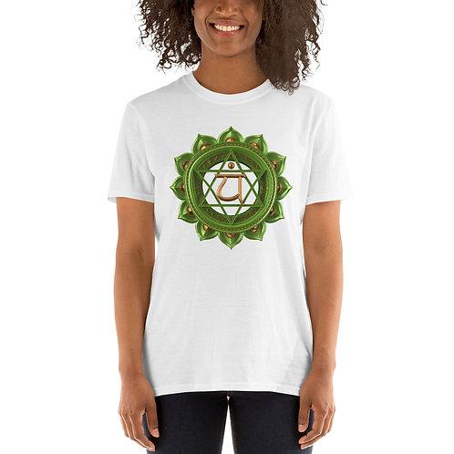 Chacra Camiseta de manga corta unisex KiFusion