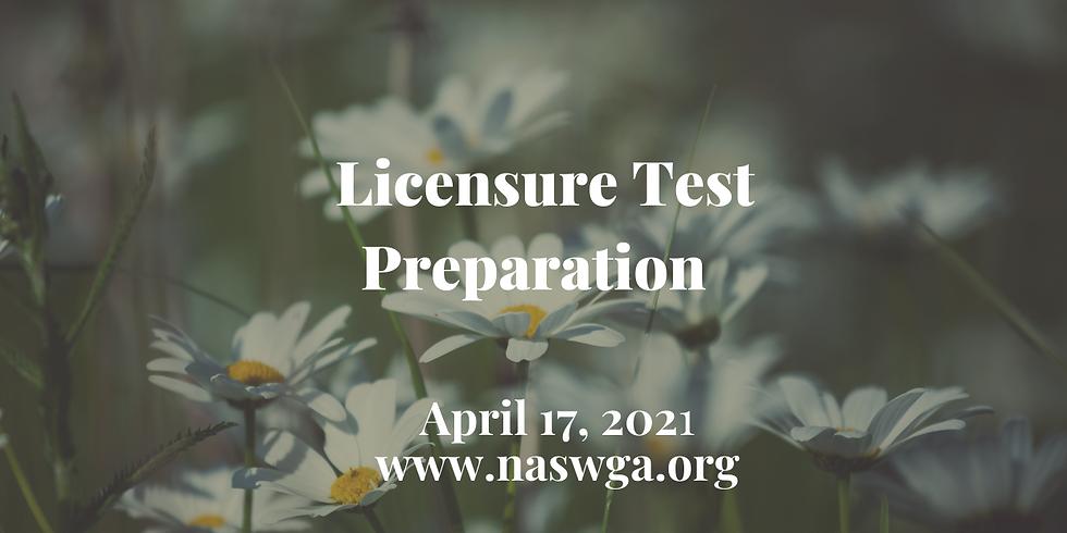 Virtual Licensure Test Preparation Session
