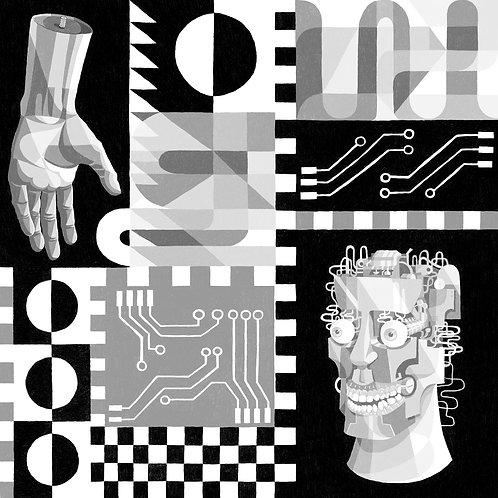'Glitch 2.5' Digital Print