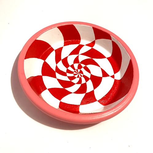 Pink/Red Small Trinket Tray