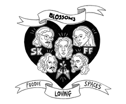 Foodie Friday Stockport x Blossoms T-Shirt Design
