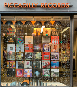 Piccadilly Records Window Display