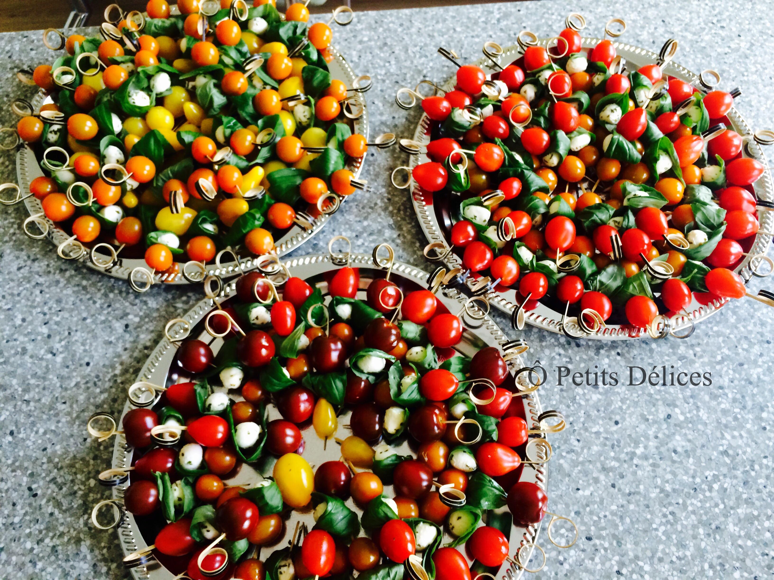Tomaten-Mozzarella-Spiessli